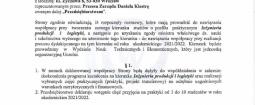 Podpisanie listu intencyjnego dotyczącego współpracy z PWSZ im. Witelona w Legnicy