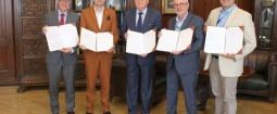 Zawarcie umówy o współpracę z Politechniką Wrocławską i Urzędem Miasta Wrocławia