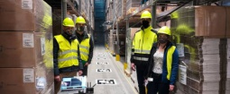 Kolejne testy dronów NeuroSpace w Reckitt Benckiser Production już za nami!